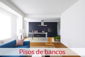 Piso de bancos en Pamplona
