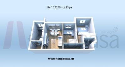 Piso en La Elipa - Madrid (Madrid)