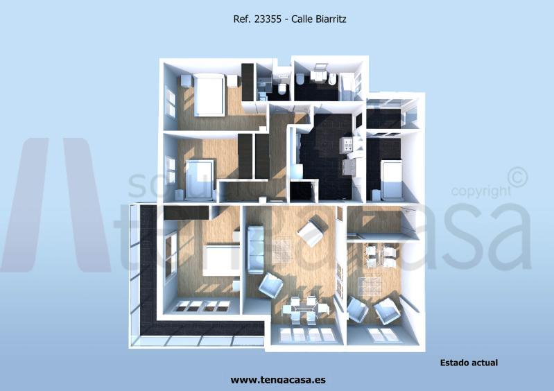 Piso en venta en Guindalera - Madrid, 23355