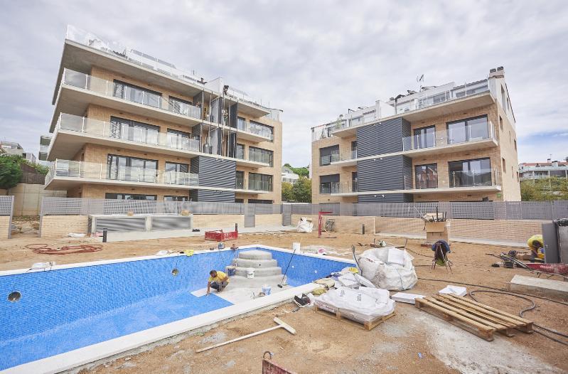 VIU TIANA (Promoción en Tiana con aparcamiento, trastero y piscina comunitaria)
